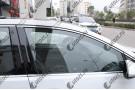 Хромированные молдинги окон Volkswagen Golf 7 2013+ (10 молдингов)