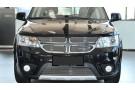 Хром решетка радиатора Dodge Journey 1 2011+