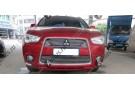 Хром решетка радиатора Mitsubishi ASX 2010-2013