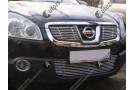 Хром решетка радиатора Nissan Qashqai J10 2007-2010