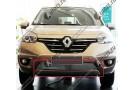 Хром решетка радиатора Renault Koleos 2013+