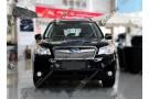 Хром решетка радиатора Subaru Forester SJ 2012-2016