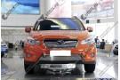Хром решетка радиатора Subaru XV 2011+