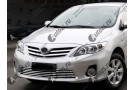 Хром решетка радиатора Toyota Corolla E150 2010-2013