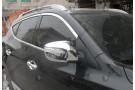 Хромированные накладки на зеркала заднего вида Hyundai ix35 2010-2013