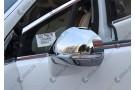Хромированные накладки на зеркала заднего вида Peugeot 3008 2014+