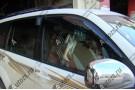 Накладки на зеркала заднего вида Toyota Land Cruiser Prado 120 2002-2009