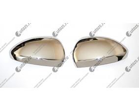 Хромированные накладки на зеркала заднего вида Chevrolet Cruze 1 2009-2015 A