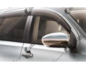 Накладки на зеркала заднего вида Nissan Qashqai J10 2007-2014