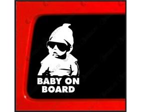 Наклейка Baby on board