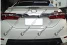 Спойлер на Toyota Corolla E160 2013+ (стоп сигнал)