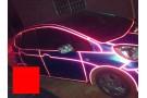Светоотражающая лента 3D красная - 5 метров