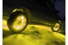 Желтая лента для подсветки четырех дисков
