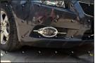 Хромированные накладки на передние ПТФ Chevrolet Cruze 1 2009-2012 A