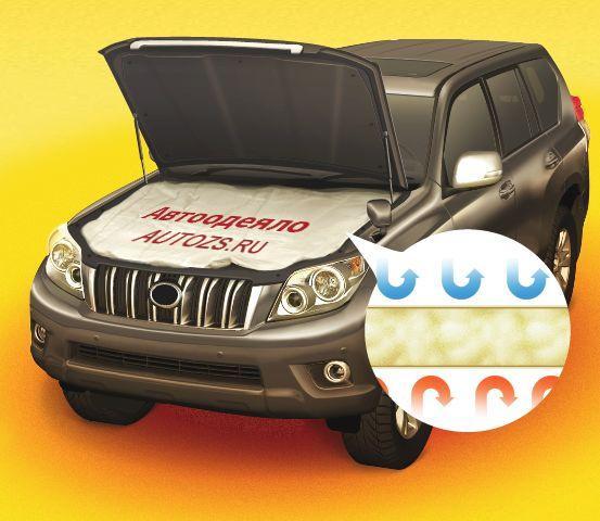 Купить Автоодеяло (утеплитель двигателя) для Kia Sorento 1 поколение [рестайлинг] Внедорожник (2006-2011)
