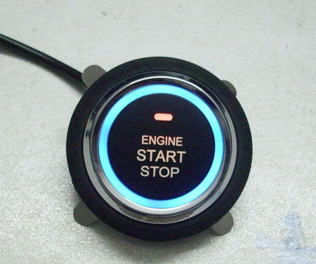 Купить Кнопка запуска двигателя с подсветкой Engine Start-Stop