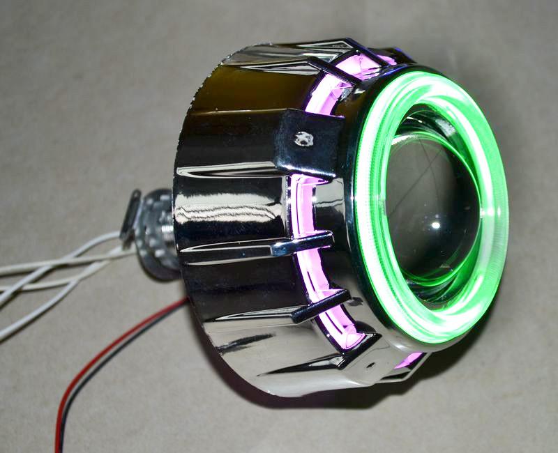Как сделать свет от линз 180