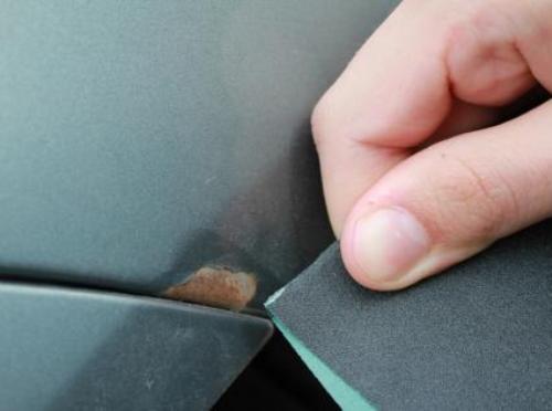 Убрать ржавчину с машины