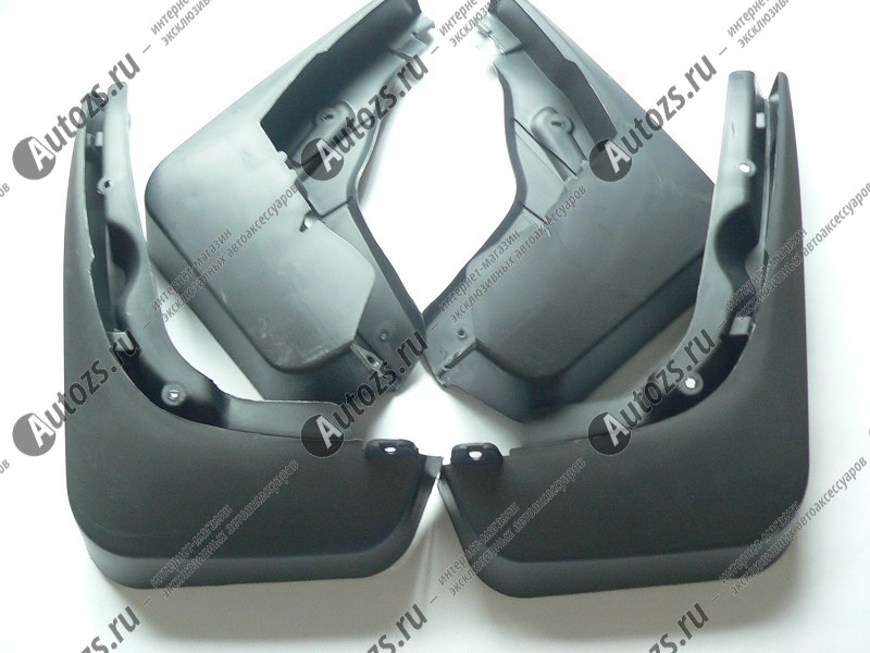 Брызговики для Audi Q5 Typ 8R 2008+Брызговики для Audi<br>НЕ подходят для S-line<br><br><br>Купить брызговики Ауди Q5 высокого качества Вы можете в нашем интернет-магазине. Они не поддаются воздействию высоких и низких температур, выдерживают диапазон ±50°С, обладают гибкостью и высоко...<br>