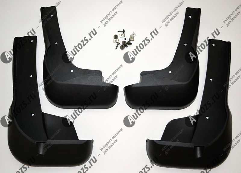 Купить со скидкой Брызговики для Citroen C4 Aircross 2012+