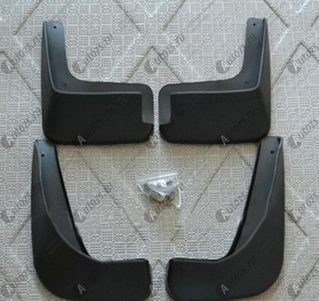 Купить со скидкой Брызговики для Citroen C4 1 2008-2010 седан