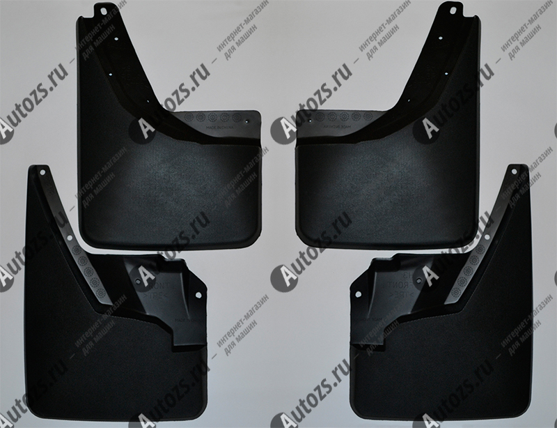 Брызговики для Hummer H3 2005-2010Брызговики для Hummer <br>Купить брызговики Hummer H3 высокого качества Вы можете в нашем интернет-магазине. Они не поддаются воздействию высоких и низких температур, выдерживают диапазон ±50°С, обладают гибкостью и высокой прочностью.<br><br>На любо...<br>