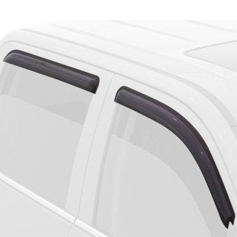 Дефлекторы боковых окон Volkswagen Touareg II (2010-2014)Дефлекторы боковых окон<br>Дефлекторы боковых окон индивидуальны для каждого автомобиля. Продукция изготовлена с помощью точного компьютерного оборудования и новейших технологий. Дефлекторы окон блокируют сильный ветер, бурный поток во...<br>