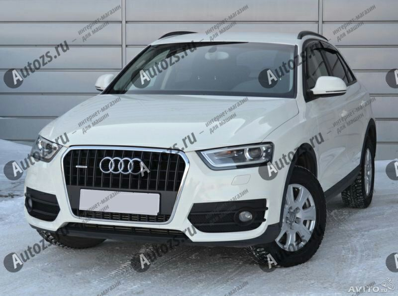 Дефлекторы боковых окон Audi Q3 I (2011-2014)Дефлекторы боковых окон<br>Дефлекторы боковых окон индивидуальны для каждого автомобиля. Продукция изготовлена с помощью точного компьютерного оборудования и новейших технологий. Дефлекторы окон блокируют сильный ветер, бурный поток во...<br>