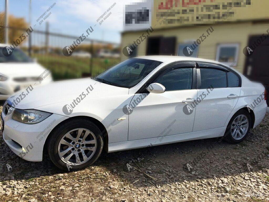 Дефлекторы боковых окон BMW 3er V (E9x) Рестайлинг Седан (2008-2012)Дефлекторы боковых окон<br>Дефлекторы боковых окон индивидуальны для каждого автомобиля. Продукция изготовлена с помощью точного компьютерного оборудования и новейших технологий. Дефлекторы окон блокируют сильный ветер, бурный поток во...<br>