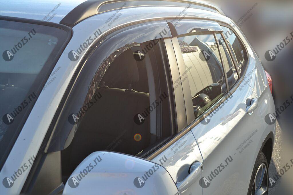 Дефлекторы боковых окон BMW X1 I (E84) (2009-2012)Дефлекторы боковых окон<br>Дефлекторы боковых окон индивидуальны для каждого автомобиля. Продукция изготовлена с помощью точного компьютерного оборудования и новейших технологий. Дефлекторы окон блокируют сильный ветер, бурный поток во...<br>