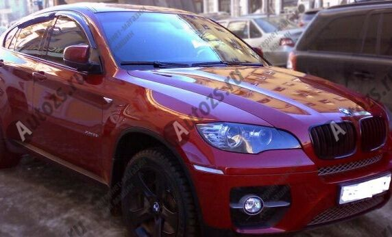 Купить Дефлекторы боковых окон BMW X6 I (E71) (2007-2012)