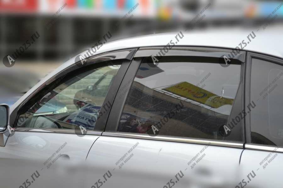 Дефлекторы боковых окон Chevrolet Captiva I (2006-2011)Дефлекторы боковых окон<br>Дефлекторы боковых окон индивидуальны для каждого автомобиля. Продукция изготовлена с помощью точного компьютерного оборудования и новейших технологий. Дефлекторы окон блокируют сильный ветер, бурный поток во...<br>