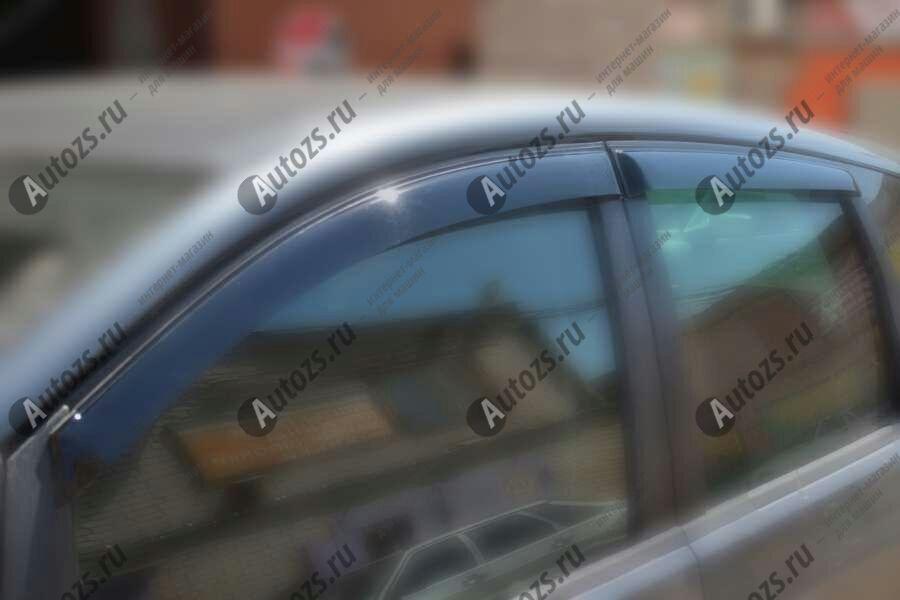 Дефлекторы боковых окон Ford C-MAX I Рестайлинг (2007-2010)Дефлекторы боковых окон<br>Дефлекторы боковых окон индивидуальны для каждого автомобиля. Продукция изготовлена с помощью точного компьютерного оборудования и новейших технологий. Дефлекторы окон блокируют сильный ветер, бурный поток во...<br>