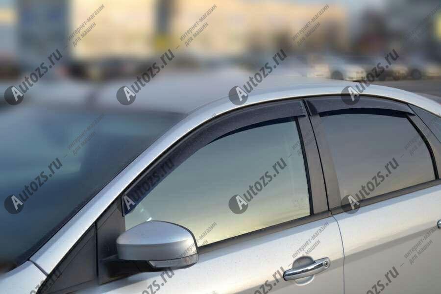 Купить Дефлекторы боковых окон Ford Focus II Хэтчбек 5дв. (2005-2008)