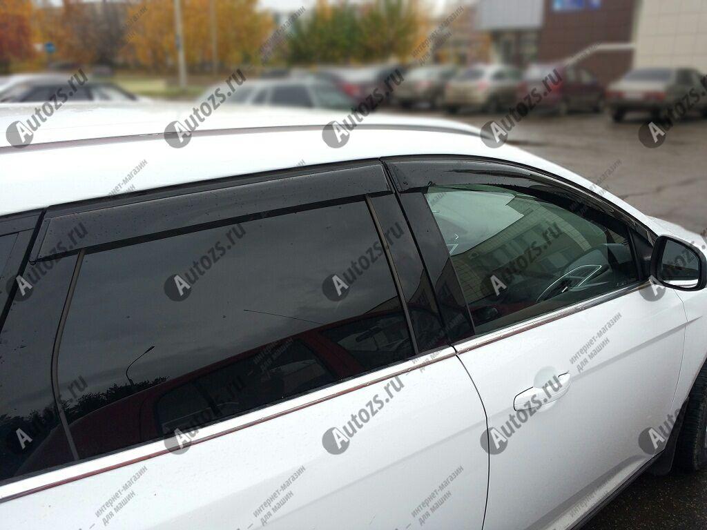 Купить Дефлекторы боковых окон Ford Focus III Рестайлинг Универсал 5дв. (2014+)