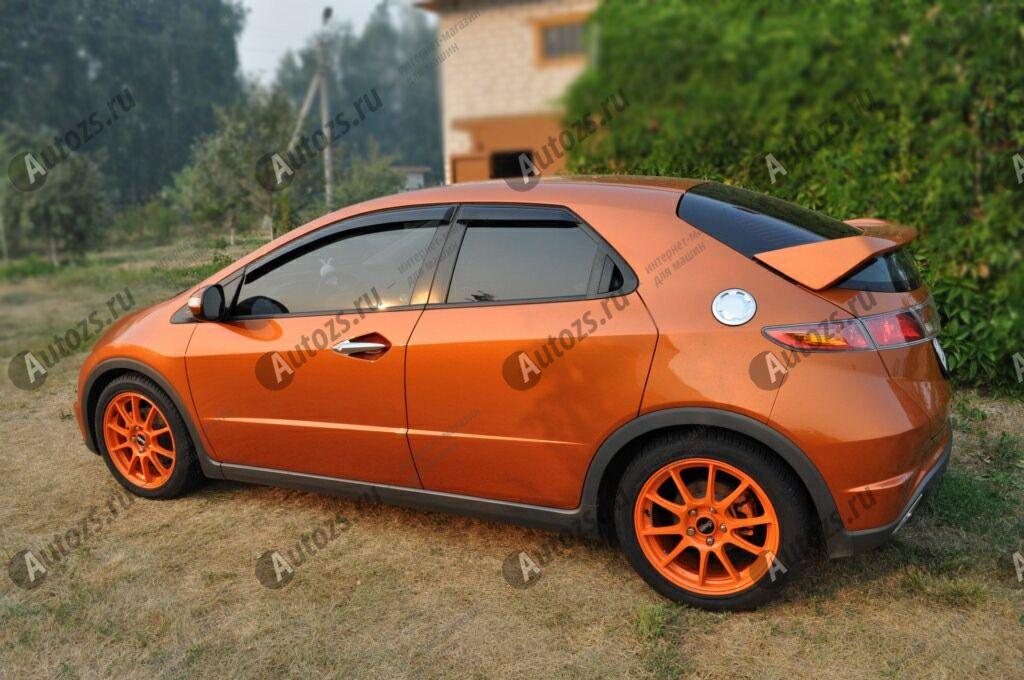 Купить Дефлекторы боковых окон Honda Civic VIII Хэтчбек 5дв. (2005-2008)