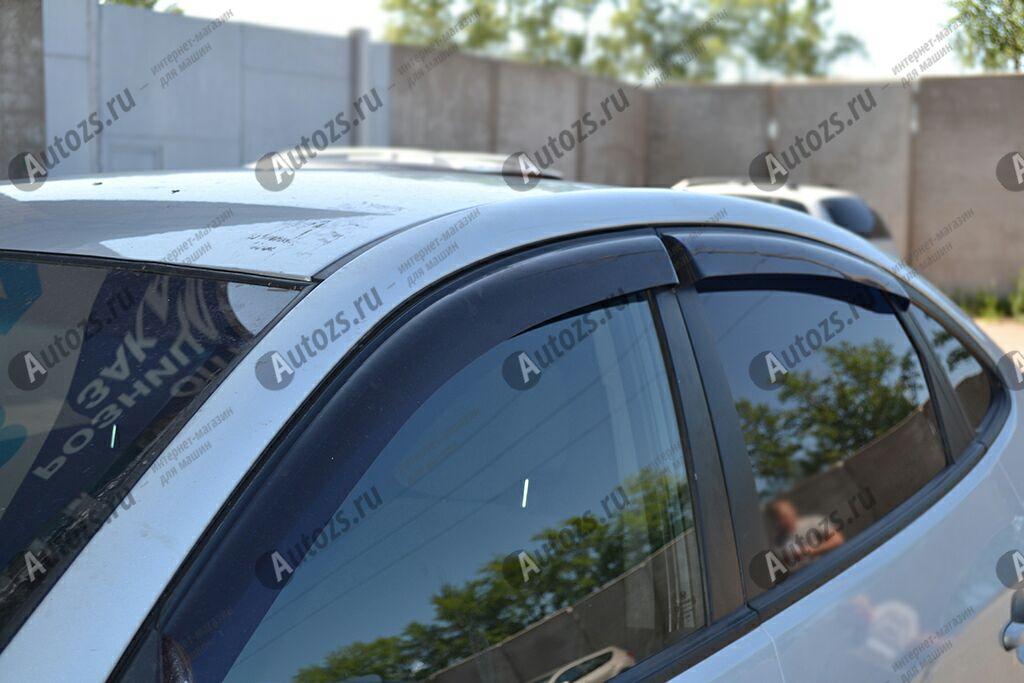 Дефлекторы боковых окон Hyundai Elantra IV (HD) (2006-2011)Дефлекторы боковых окон<br>Дефлекторы боковых окон индивидуальны для каждого автомобиля. Продукция изготовлена с помощью точного компьютерного оборудования и новейших технологий. Дефлекторы окон блокируют сильный ветер, бурный поток во...<br>