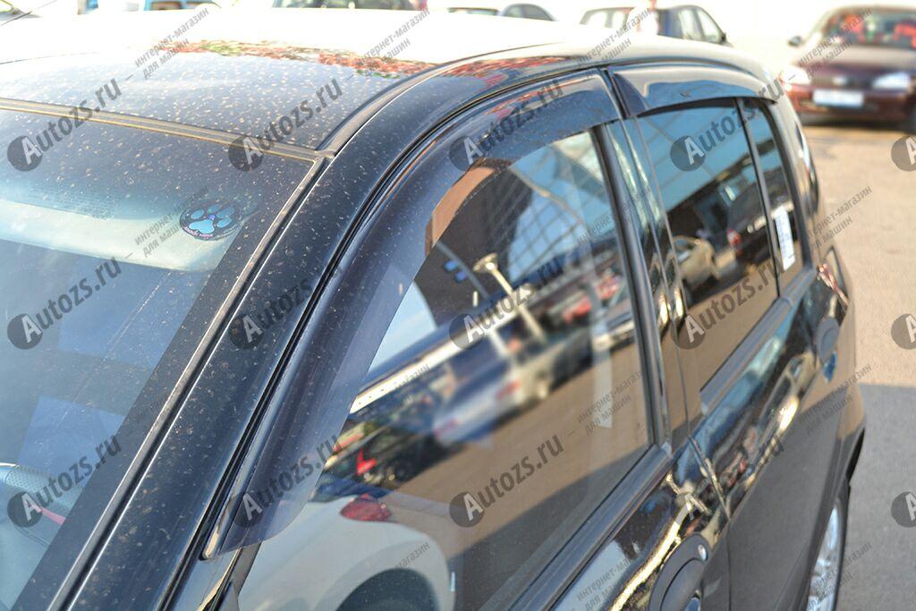 Дефлекторы боковых окон Hyundai Getz Хэтчбек 5дв. (2002-2011)Дефлекторы боковых окон<br>Дефлекторы боковых окон индивидуальны для каждого автомобиля. Продукция изготовлена с помощью точного компьютерного оборудования и новейших технологий. Дефлекторы окон блокируют сильный ветер, бурный поток во...<br>