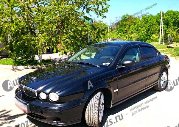 Дефлекторы боковых окон Jaguar X-Type Седан (2001-2009)Дефлекторы боковых окон<br>Дефлекторы боковых окон индивидуальны для каждого автомобиля. Продукция изготовлена с помощью точного компьютерного оборудования и новейших технологий. Дефлекторы окон блокируют сильный ветер, бурный поток во...<br>