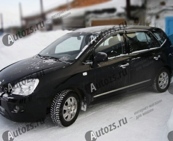 Купить Дефлекторы боковых окон Kia Carens III (2006-2012)