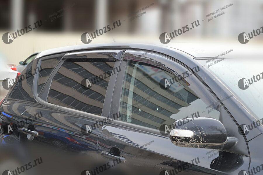 Дефлекторы боковых окон Kia Ceed II Рестайлинг Хэтчбек 5 дв. (2015+)Дефлекторы боковых окон<br>Дефлекторы боковых окон индивидуальны для каждого автомобиля. Продукция изготовлена с помощью точного компьютерного оборудования и новейших технологий. Дефлекторы окон блокируют сильный ветер, бурный поток во...<br>