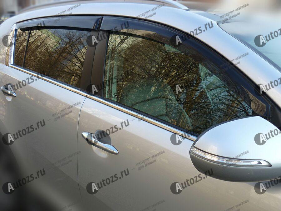 Купить Дефлекторы боковых окон Kia Sportage III Рестайлинг (2014+)