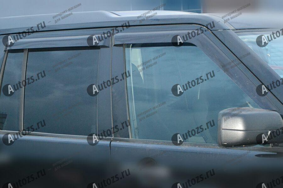Дефлекторы боковых окон Land Rover Discovery IV (2009+)Дефлекторы боковых окон<br>Дефлекторы боковых окон индивидуальны для каждого автомобиля. Продукция изготовлена с помощью точного компьютерного оборудования и новейших технологий. Дефлекторы окон блокируют сильный ветер, бурный поток во...<br>