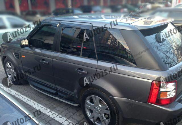Дефлекторы боковых окон Land Rover Range Rover Sport I (2005-2009)Дефлекторы боковых окон<br>Дефлекторы боковых окон индивидуальны для каждого автомобиля. Продукция изготовлена с помощью точного компьютерного оборудования и новейших технологий. Дефлекторы окон блокируют сильный ветер, бурный поток во...<br>