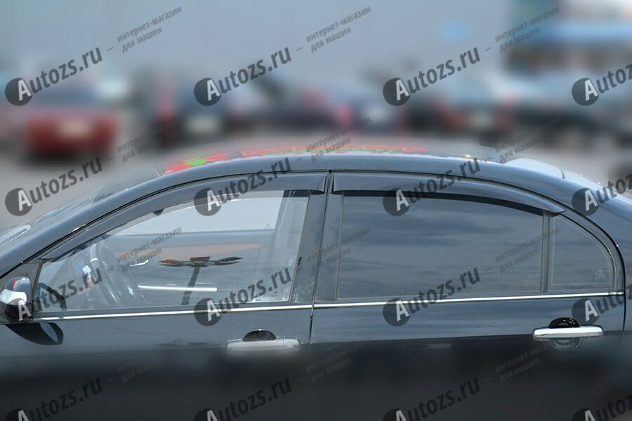 Дефлекторы боковых окон Lifan Solano I (620) (2008+)Дефлекторы боковых окон<br>Дефлекторы боковых окон индивидуальны для каждого автомобиля. Продукция изготовлена с помощью точного компьютерного оборудования и новейших технологий. Дефлекторы окон блокируют сильный ветер, бурный поток во...<br>