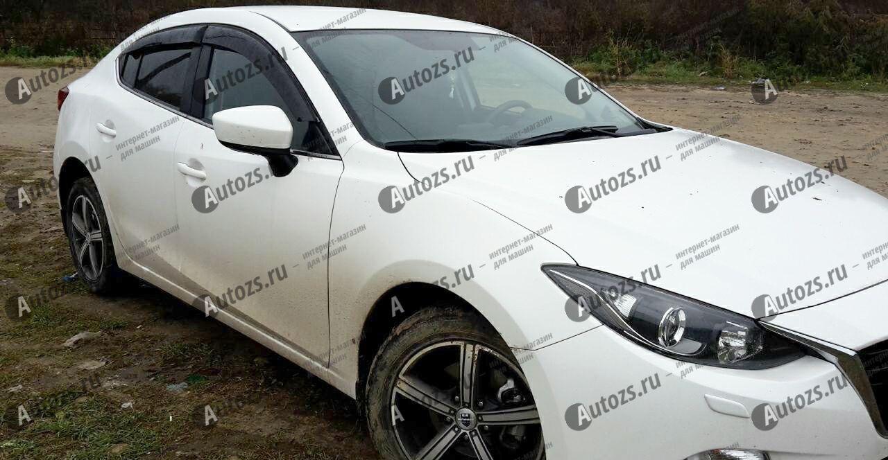 Купить Дефлекторы боковых окон Mazda 3III Хэтчбек 5дв. (2013+)