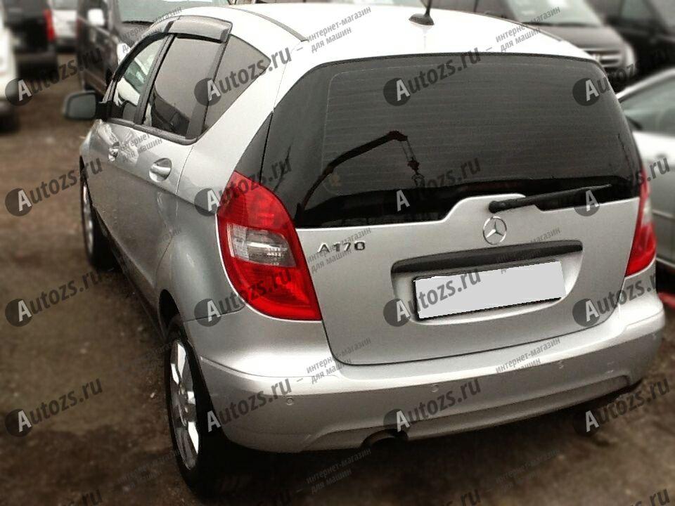 Дефлекторы боковых окон Mercedes-Benz A-klasse II (W169) Рестайлинг Хэтчбек 5дв. (2008-2012)Дефлекторы боковых окон<br>Дефлекторы боковых окон индивидуальны для каждого автомобиля. Продукция изготовлена с помощью точного компьютерного оборудования и новейших технологий. Дефлекторы окон блокируют сильный ветер, бурный поток во...<br>