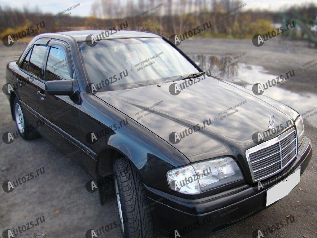 Дефлекторы боковых окон Mercedes-Benz C-klasse I (W202) Седан (1993-1997)Дефлекторы боковых окон<br>Дефлекторы боковых окон индивидуальны для каждого автомобиля. Продукция изготовлена с помощью точного компьютерного оборудования и новейших технологий. Дефлекторы окон блокируют сильный ветер, бурный поток во...<br>