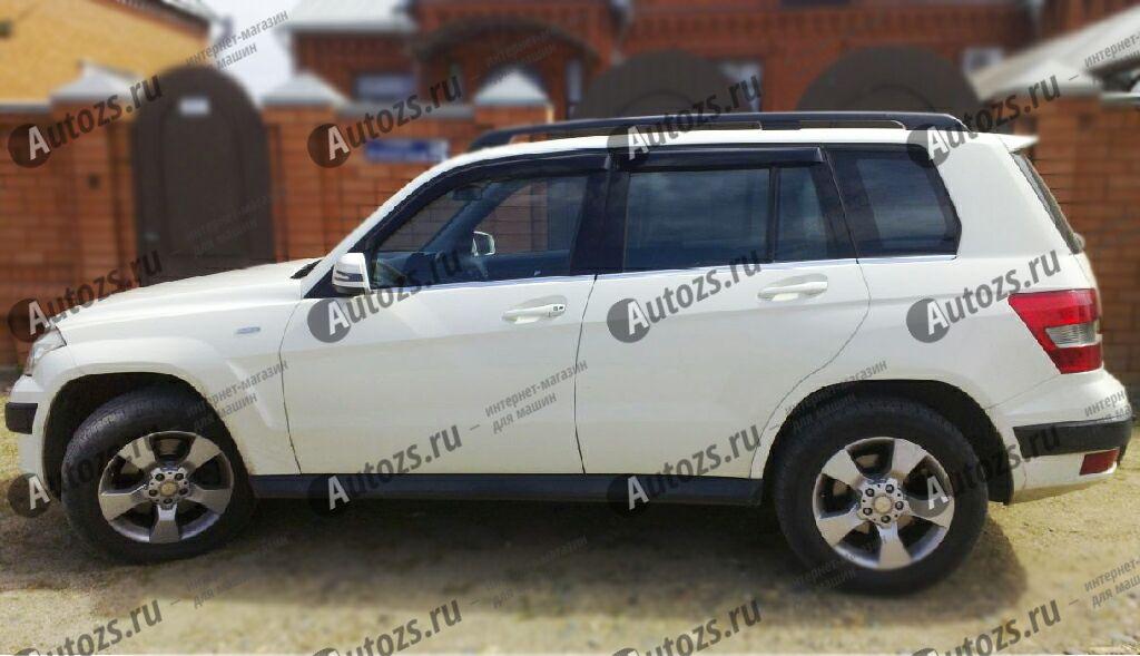 Дефлекторы боковых окон Mercedes-Benz GLK-klasse I (X204) Рестайлинг (2012+)Дефлекторы боковых окон<br>Дефлекторы боковых окон индивидуальны для каждого автомобиля. Продукция изготовлена с помощью точного компьютерного оборудования и новейших технологий. Дефлекторы окон блокируют сильный ветер, бурный поток во...<br>