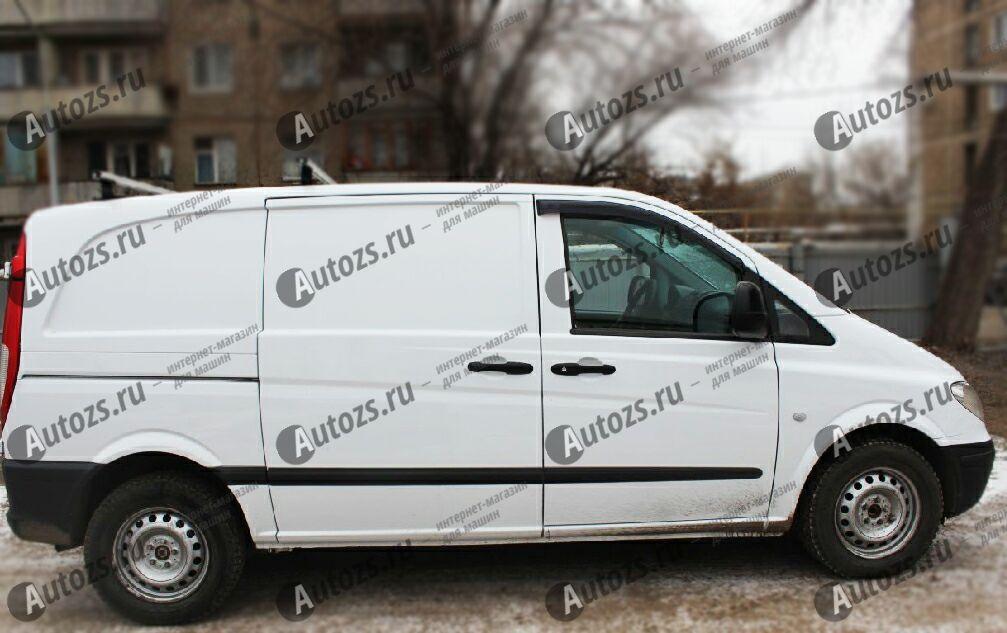 Дефлекторы боковых окон Mercedes-Benz Vito II (W639) Рестайлинг (2010+)
